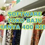 Data Barang Yang Dijual Menggunakan Software Toko