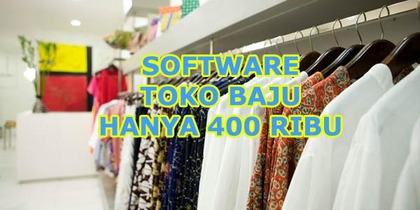 software TOKO BAJU
