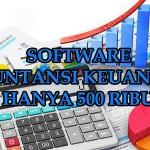 Menggunakan Software Laporan Keuangan