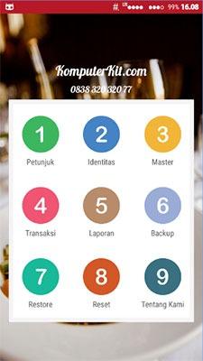 aplikasi restoran android prorestoone